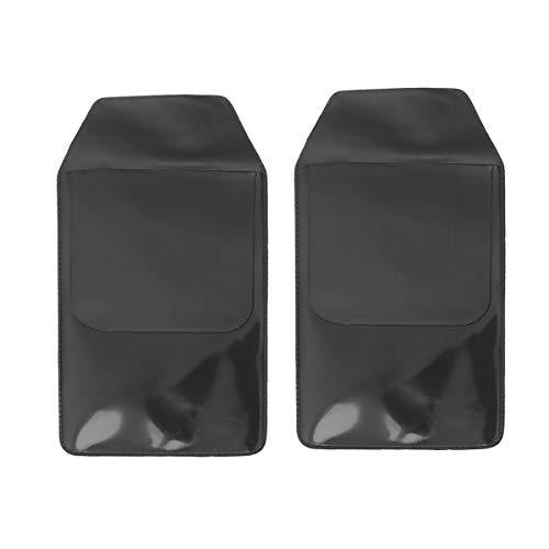 Toyandona 10 Stück Taschen-Schutzstifte aus PVC, wasserfest, Trapez-Stifttasche, praktische Stifttasche (schwarz) S Schwarz