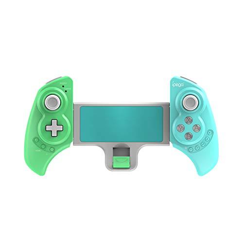 Fesjoy PG-SW029 - Mando a distancia inalámbrico para juegos (inalámbrico, recargable, con giroscopio de 6 ejes, función de vibración, compatible con N, S, PS3, Android TA)