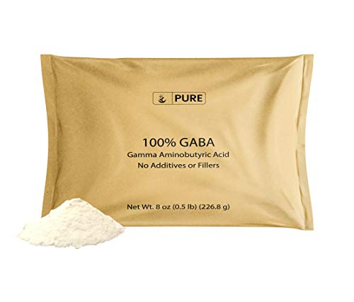 Gamma Aminobutyric Acid (GABA) Powder (8 oz) Sleep & Relaxation*
