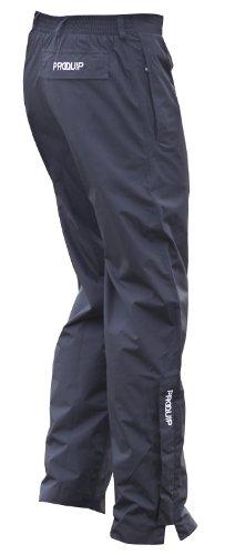 Pro-Quip Aquastorm Pantalon imperméable zippé pour Homme S Noir - Bleu Roi