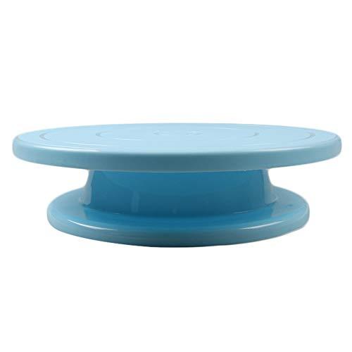Z.L.FFLZ Puesto de Pasteles Torta Redonda Soporte Fiesta de cumpleaños de la Boda de DIY Postre de la Magdalena de DIY Torta de la celebración Material Decorativo (Color : Azul, Size : Gratis)