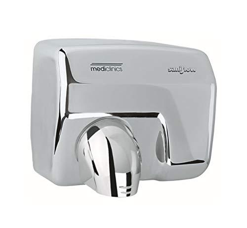 mediclinics e88ac – saniflow-p Sèche-mains automatique 2250 W, Couleur : Inox Brillant