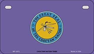 Bargain World Choctaw Nation Tribe Novelty Motorcycle License Plate (Sticky Notes)