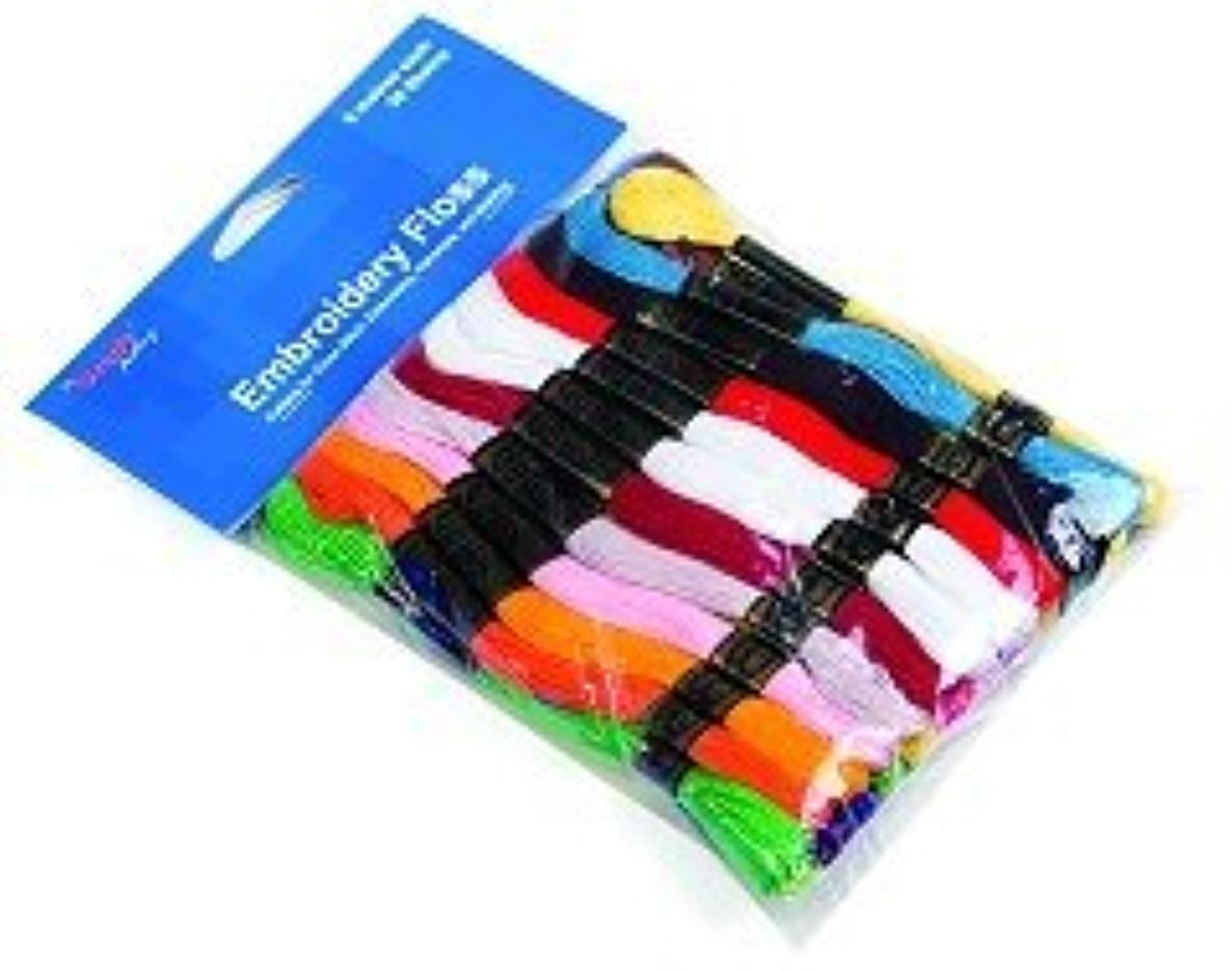 Embroidery Thread 36 Pack: Bright Colours