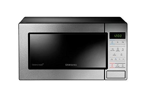 Samsung me83m Arbeitsplatte Arbeitsplatte 23L 800W Edelstahl Mikrowelle (23L, 800W, Berührung, Edelstahl, Knopf)