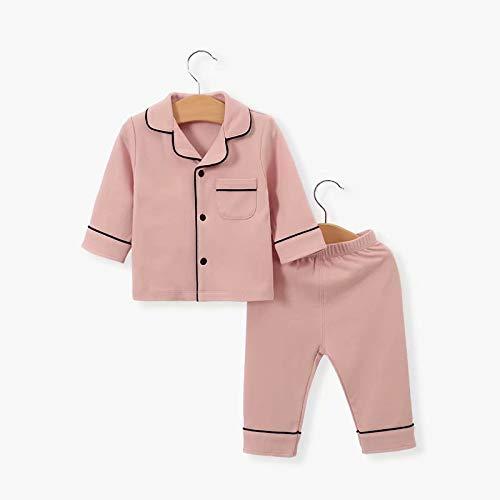 MILASIA pasgeboren baby Jumpsuit katoen Romper lange mouwen pyjama