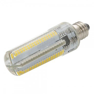 6W LED Corn Lights 152 SMD 3014 600-700 lm Blanc Chaud Blanc Froid Dimmable AC 220-240 AC 110-130 V (Option de réglage : Luminosité réglable, Couleur de source : Blanc froid-220v)