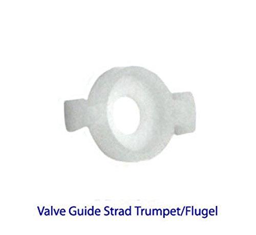 Bach Bach Stradivarius Trompete/Flügelhorn-Ventil führt (weiß Kunststoff) Set von 3