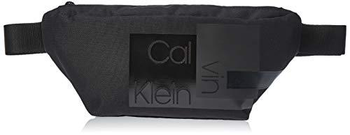 Calvin Klein Herren Layered Waistbag Schultertasche, Schwarz (Black), 0.1x0.1x0.1 Centimeters