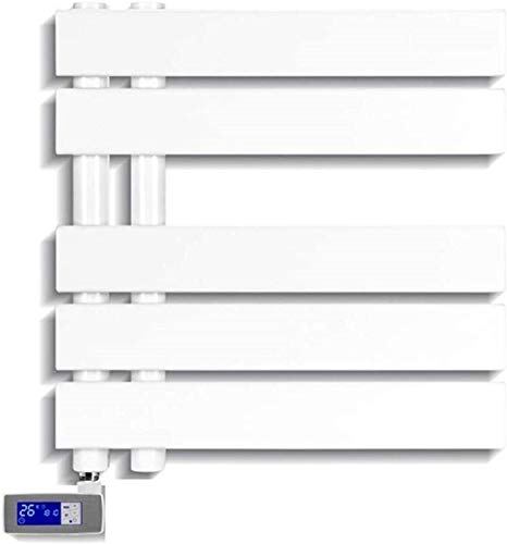 Toallero eléctrico Railleñas de toallas con calefacción Toalla Calentador, Toalla eléctrica, Toalla eléctrica, LED Smart Smart Secador de ropa Adecuado para baño Familia Cocina Cocina Toalla eléctrica