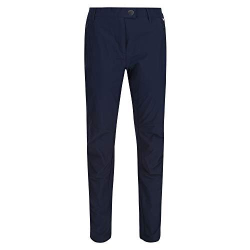 Regatta Damen Womens Highton Isoflex Durable Water Repellent Finish UV Protection Trousers Hose, Navy, 40