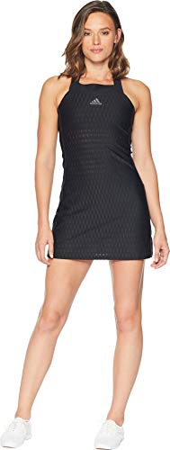 adidas Women's Tennis Barricade Dress, Black, Large