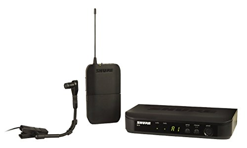 Shure BLX14/B98 Wireless Microphone System with Bodypack and BETA 98H/C Clip-on Gooseneck Instrument Mic