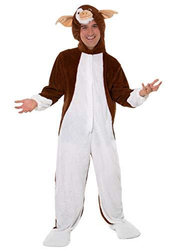 LF Centennial Pte. Disfraz de disfraz para adultos Marrón, blanco. XL