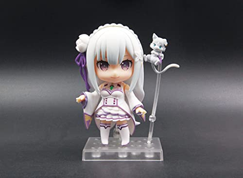 Statues Figures Anime Life in Another World Action Figures Ram Rem Q Version PVC Toys Collection Model Gift Boxed Model Ornaments 3.9inch