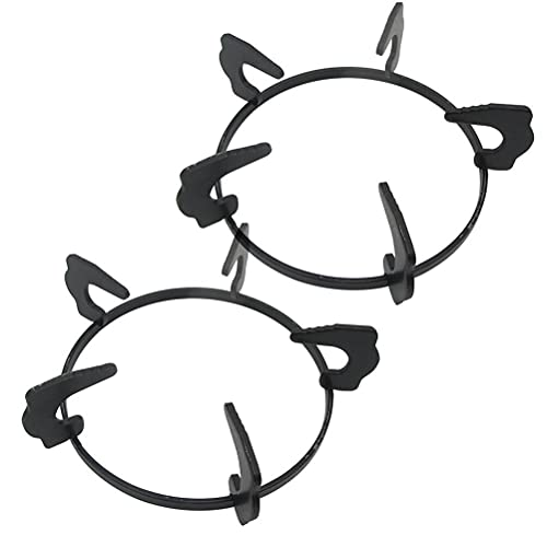 (conocimiento sin procesar) 2 unidades de cocina de gas, placa de cocina de gas, 3 garras, soporte auxiliar para cazo de leche (bolsa con 2 soportes) Q76: marco de horno integrado de 18,3 cm