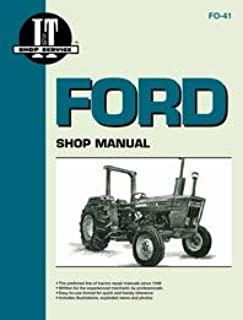 Ford 3600 Tractor Service Manual (IT Shop)