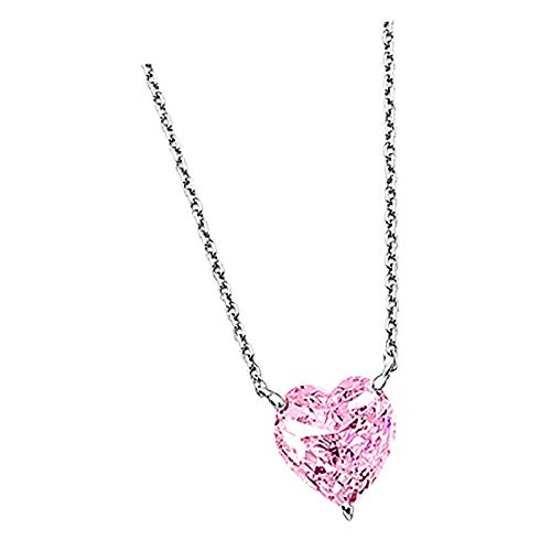 Lotus Silver Collar plata 925 con colgante corazon LP2004-1-2