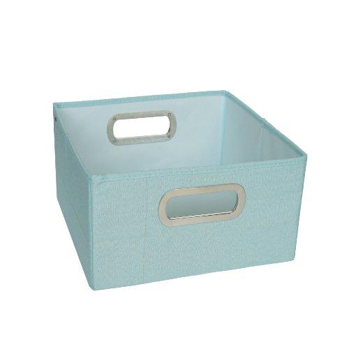 JJ Cole Heather Storage Box, Blue, 6.5