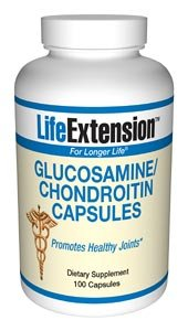 Life Extension Glucosamine/Chondroitin Sulfate, 100 Capsules
