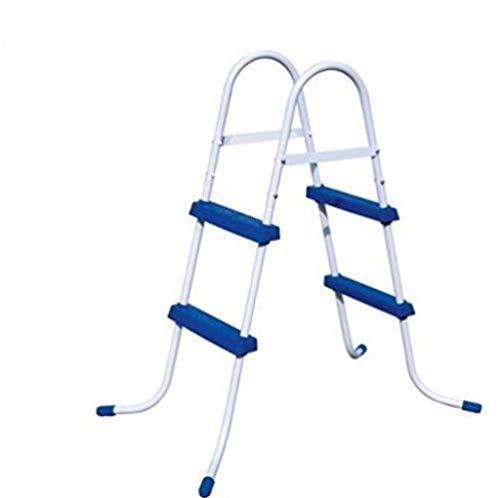 TYT 84cm la Seguridad Piscina Escalera por Asia,África,América 42 Agp Escalera por Nadando Piscina de Altura Menos Que 1 m Nadar/Azul / 84cm