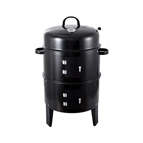 HYDDG Parrilla de carbón para barbacoa, parrilla al aire libre, parrilla al aire libre, 40 x 80 cm, multifunción, barbacoas