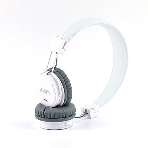 Auriculares Bluetooth Over Ear, Ligero Auriculares Inalambricos con Mic, aplicación Gratuita para...