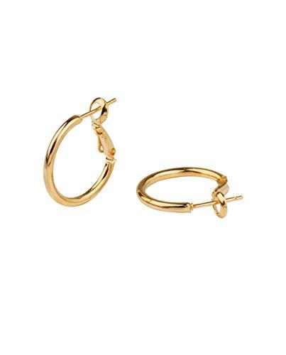 VIDAL & VIDAL Pendientes mujer de aro oro