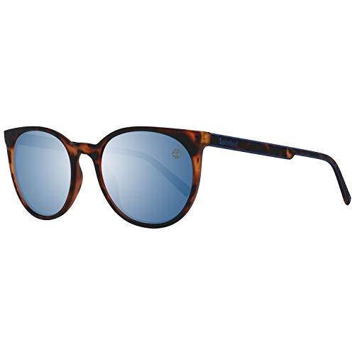 Timberland TB9176-5352D Gafas, DARK HAVANA/SMOKE, 53 Unisex Adulto