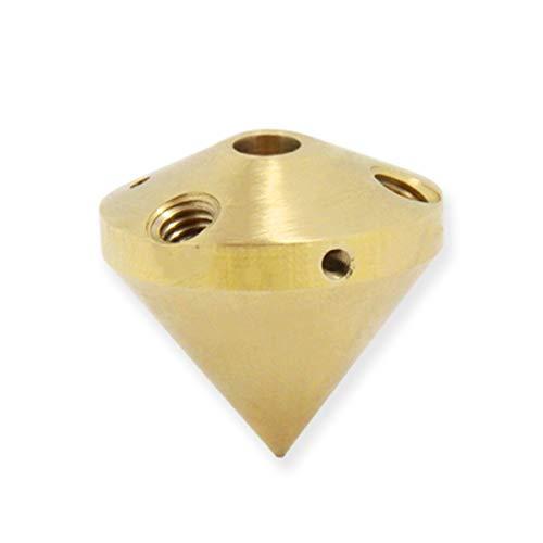 3D della testina di stampa 3 in 1 fuori ugello multi colore ottone estrusore diamante Fine 0,4 millimetri 1.75mm Filament Reprap 3D Parti della stampante 3 in 1 Out ugello Accessori Per Estrusori 3D