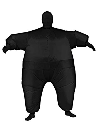 Rubie's Inflatable Full Body Suit Costume, Black, Standard