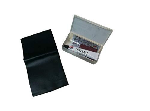 acquaverde Ares Kit Riparazione per Gonfiabili Piscine Materassi Divani Toppe Ricambio in PVC Tessuto
