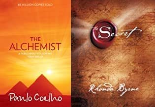 The Alchemist (Paperback) + The Secret (Hardcover) - Combo