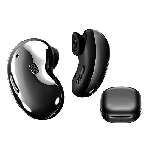 Earphone Wireless Buds Live - Bluetooth Ergonomic fit, 6-21 Hours Play time, Triple mics for Clear Call - Black