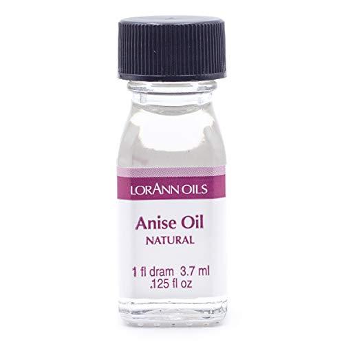 LorAnn Anise Oil Super StrengthNatural Flavor, 1 dram bottle (.0125 fl oz - 3.7ml)