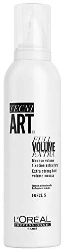 L'Oréal Professionnel Paris Tecni.ART Full Volume Extra, Schaum für Volumen, mit extra starkem Halt, ohne zu Verkleben, 250 ml