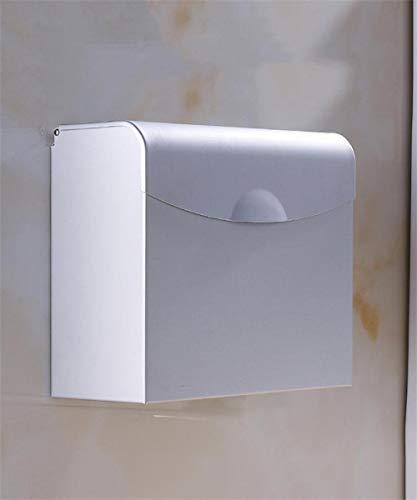 Ruimte aluminium waterdichte vochtigheid toiletpapierboxen toiletpapier handdoeken toiletpapierbox badkameraccessoires (kleur: LBINNF maat: LBINNF) B