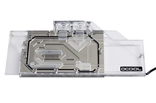 Alphacool 11742 Eisblock Aurora Plexi GPX-A AMD Radeon RX 5700/5700XT Reference Wasserkühlung GPU - Kühler