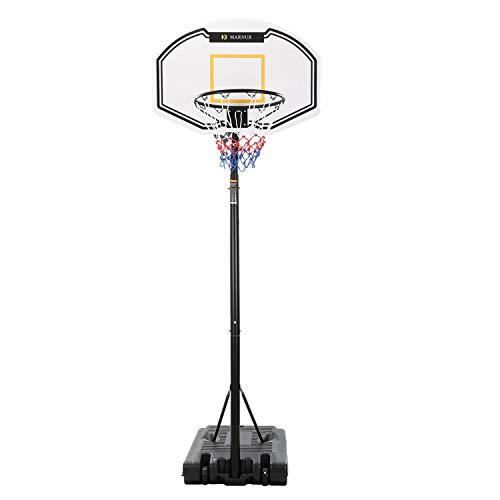MARNUR Basketball Hoop Portable Basketball Goal Basketball System...