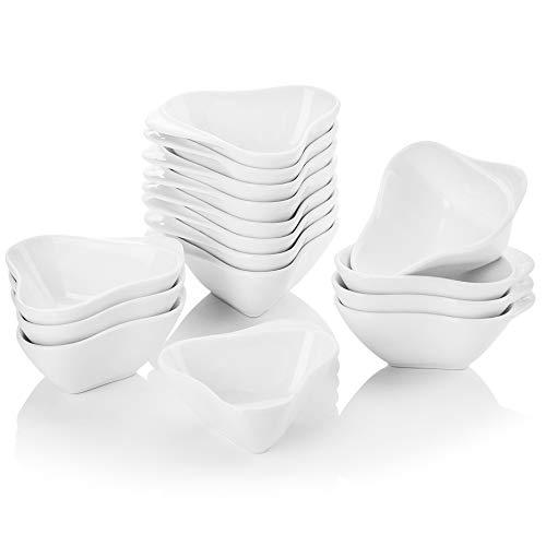 MALACASA, Serie Ramekin.Dish, 16er Set Super Mini 3