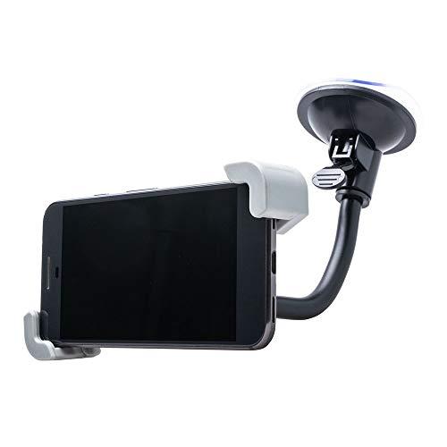 Shop4 - Universele Telefoonhouder Auto Verstelbaar Raam Diagonale Klem (max. lengte 175mm)