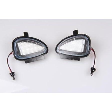 2x Top Led Xenon Umfeldbeleuchtung Aussenspiegel Leuchte Weiß 180601 Auto