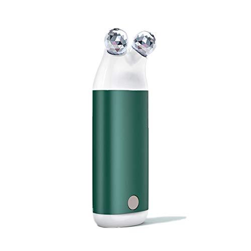 CSPFAIQL Rechargeable Chauffe-Mains avec Conception de Massage 3 en 1 USB Chaufferette Main électrique 10000mAH Portable Batterie Externe pour Femmes,D-Green