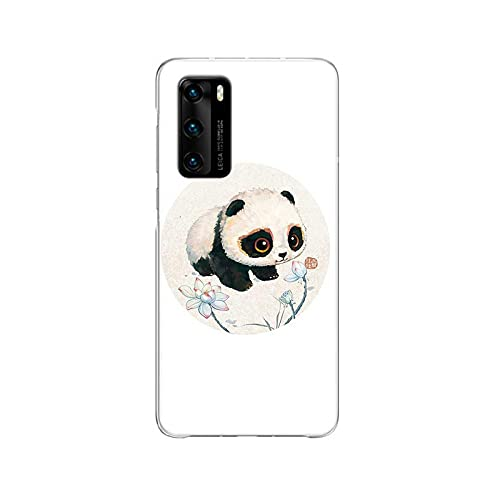Funda de silicona para Huawei P40 P30 P20 Pro P10 Lite Mate 30 20 10 Shell Back Funda de silicona Coque Cover - C188 (10) - Compatible con Huawei P40