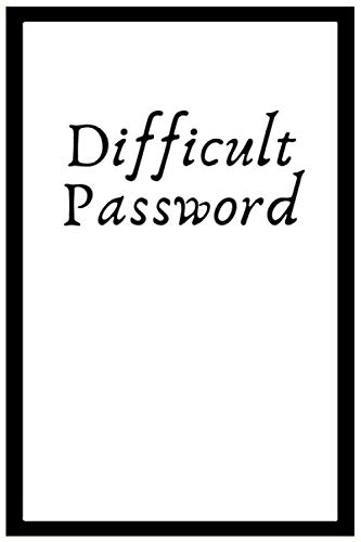 Difficult Password: Difficult Password Protect a notebook in Onenote Alphabetical Log Book Cover Color White  Frame 6