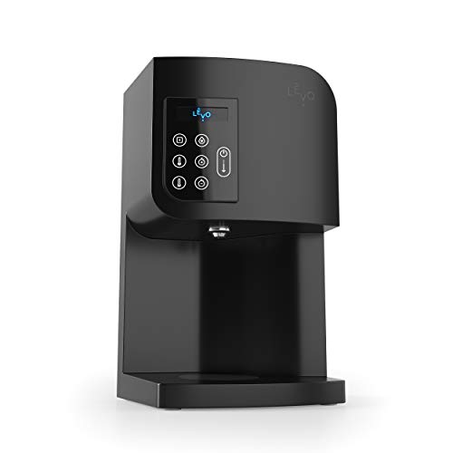 LEVO I - Small Batch Oil and Butter Herbal Infusion Machine - Precise Time and Temperature Controls for Easy and Mess-Free Homemade Infusions - Dishwasher Safe Components (Basalt)