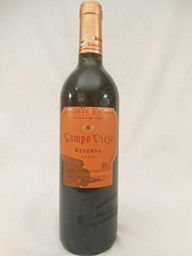 campo viejo (étiquette tachée) rouge 2000 - rioja espagne - une bouteille de vin