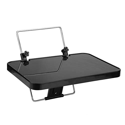 KIMISS Car Laptop Tray, Plegable Auto Car Laptop Food Steering Wheel Tray Holder Desk Desk Computer Table