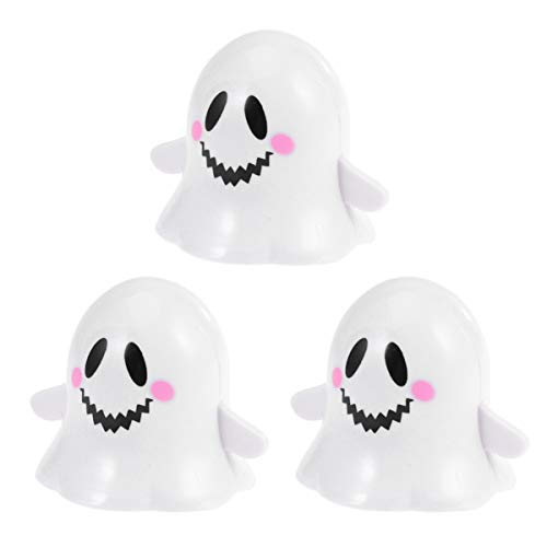 Toyvian 3 Stück Halloween Aufziehspielzeug Geist Uhrwerk Spielzeug Horror Gehen Kopfschütteln Spielzeug Goody Bag Füller für Halloween Festival Party Gunst (Zufälliges Muster)