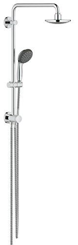 GROHE Vitalio Start 160 Duschsystem mit Umstellung für die Wandmontage (Wechsel zwischen Hand- und Kopfbrause) chrom, 26226000